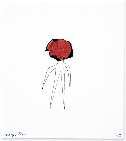 Marcel Miracle - Georges Perec, 2016, 32 x 30 cm