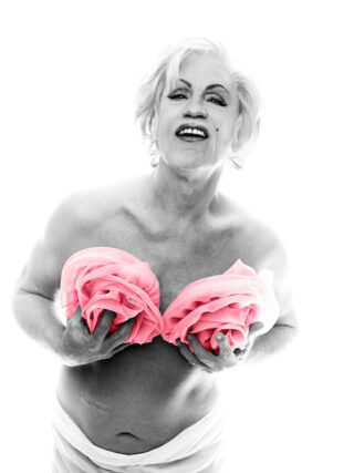 Sandro Miller - Bert Stern/ Marilyn with Pink Roses (From the Last Session, 1962), 2014
