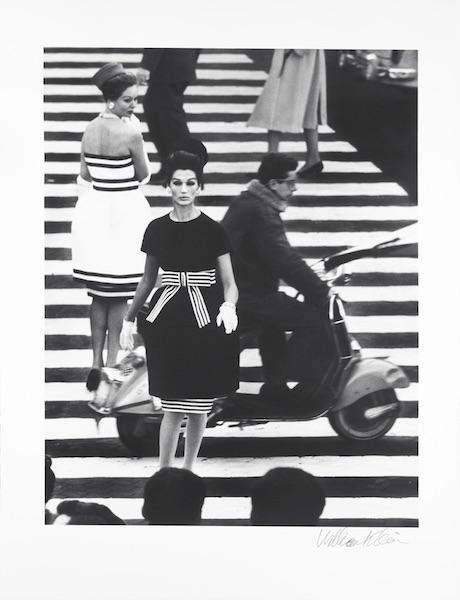 William Klein - Nina + Simone, Piazza di Spagna, Rome (Vogue), 1960
