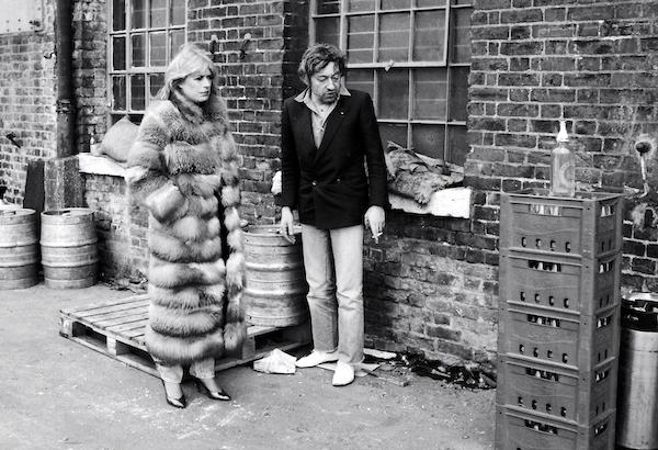 Alain Trellu - Gainsbourg & M. Faithful, London, 1982