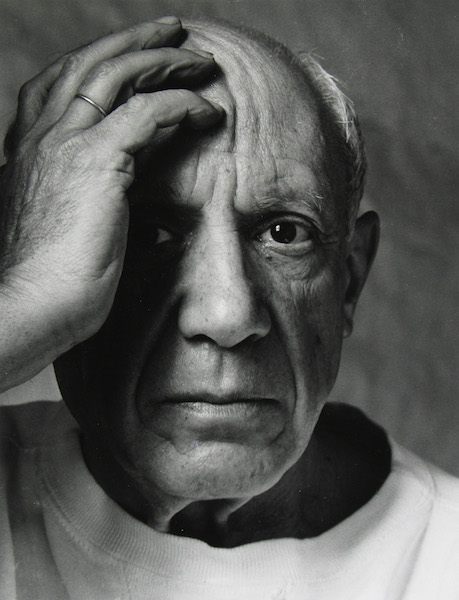 Arnold Newman - Picasso, 1954