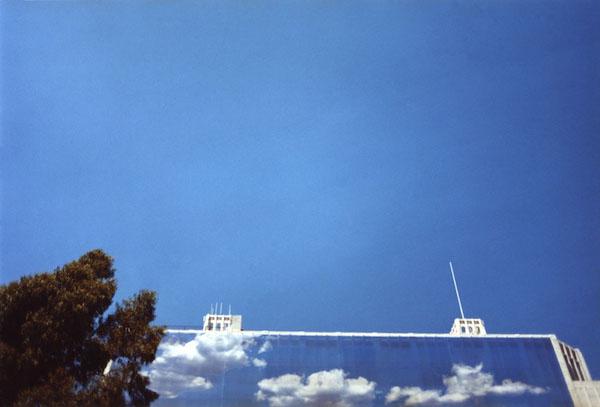 Kate Schermerhorn - Billboard with Blue Sky, 2003