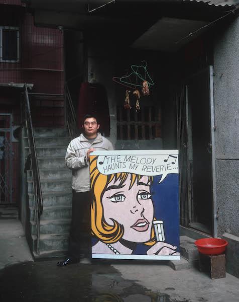 Michael Wolf - China Copy Art #1, Roy Lichtenstein, 24 euro