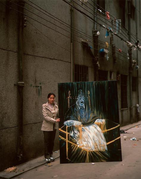 Michael Wolf - China Copy Art #7, Francis Bacon, 72 euro