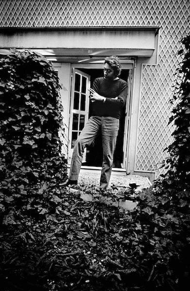 Claude Gassian - Serge Gainsbourg, Saint-Germain-les-Arpajoie, 1989