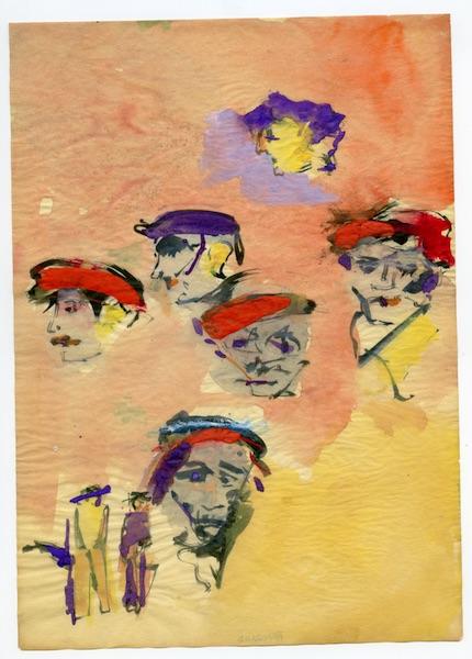 Saul Leiter - Faces, ca. 1960