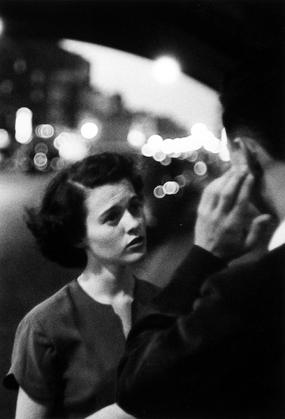 Louis Faurer - Deaf-Mute, New York, 1950