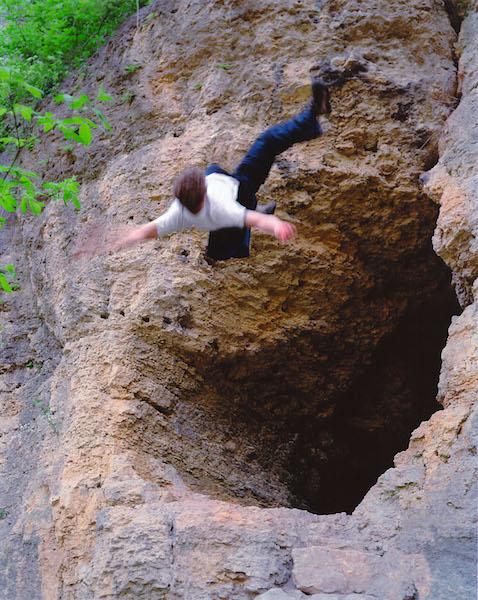 Kerry Skarbakka - Plato's cave, 2002