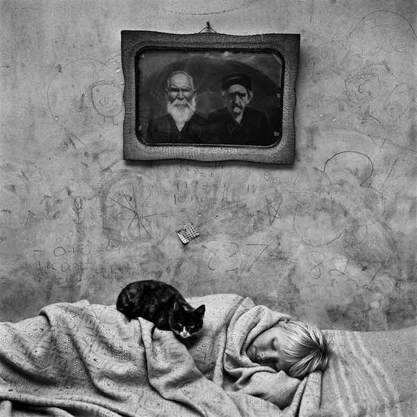 Roger Ballen - Portrait of Sleeping Girl, 2000