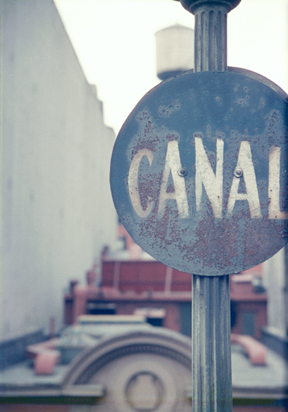 Saul Leiter - Canal, c. 1948
