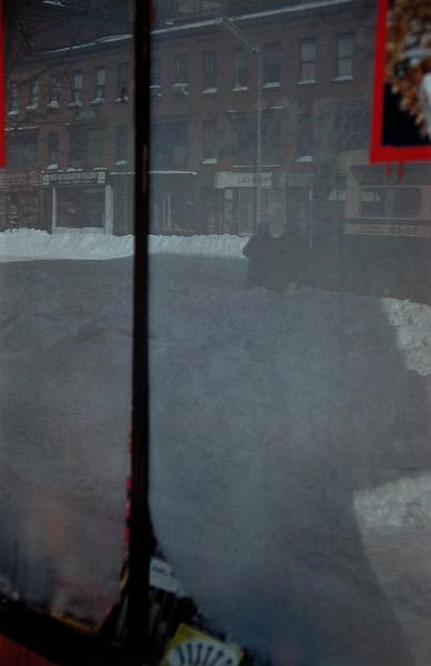 Saul Leiter - Snow Scene, 1958