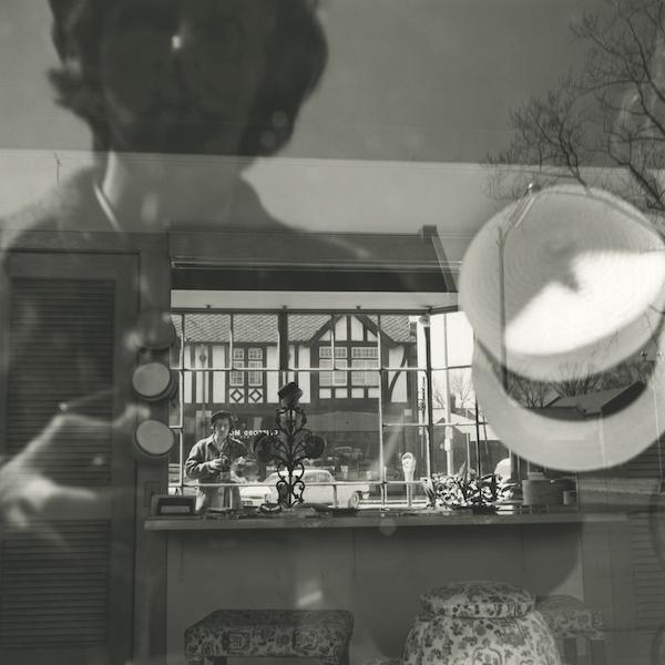 Vivian Maier - Self-portrait, Chicago area, April 3, 1961
