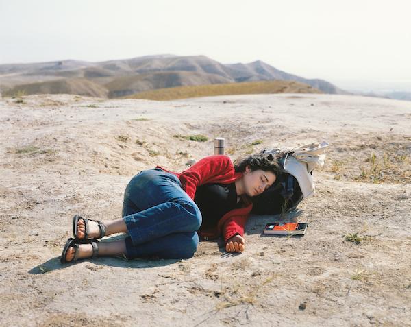 Yaakov Israel - Nili asleep, Nebi Musa, QMWD, 2010
