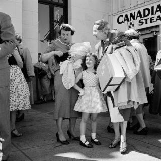 Vivian Maier - Canada, 1950