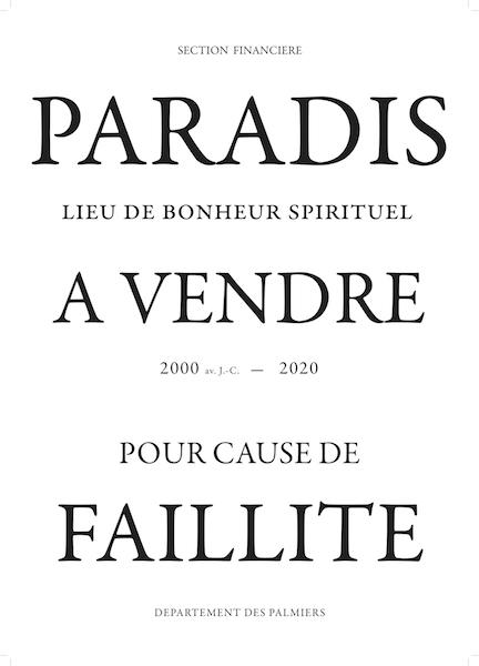 Bruno V. Roels - Paradis À Vendre, 2021