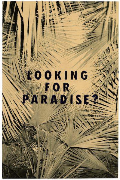 Bruno V. Roels - Looking For Paradise Question Mark, 2021